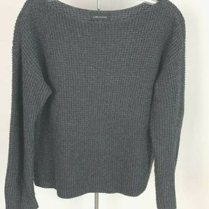 Lord & Taylor Womens Pullover Sweater Gray Sz S